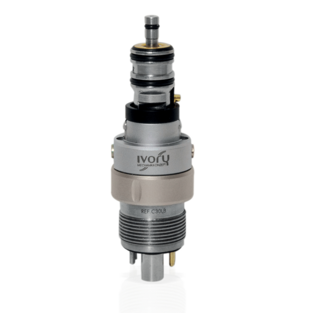 C30LB Ivory Quick Coupling for Bienair Turbines, Electrified, Spray Adjustment